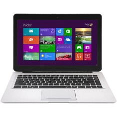 "Foto Ultrabook Qbex Intel Core i3 3217U 14"" 4GB HD 500 GB Híbrido SSD 32"