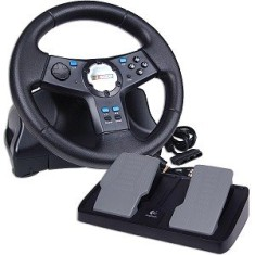 Foto Volante PS2 NASCAR Racing Wheel - Logitech