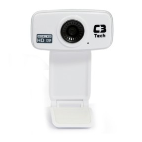 Foto WebCam C3 Tech 12 MP Filma em Full HD WB-394