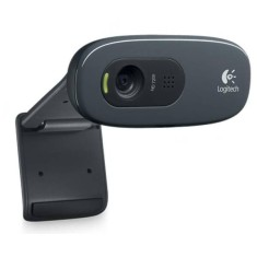 Foto WebCam Logitech 3 MP Filma em HD C-270