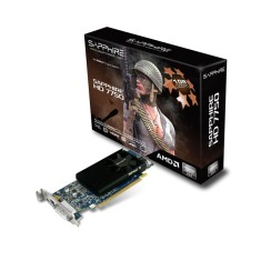Placa de Video ATI Radeon HD 7750 1 GB GDDR5 128 Bits Sapphire 11202-10-20G