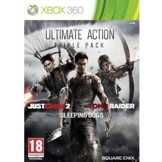 Jogo Ultimate Action: Triple Pack Xbox 360 Square Enix