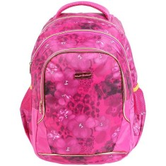 Mochila Escolar Dermiwil Planet Girls Flowers G 60368