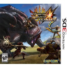 Jogo Monster Hunter 4 Ultimate Capcom Nintendo 3DS