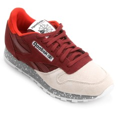 Tênis Reebok Masculino Casual Cl Leather Sm