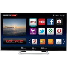 "Smart TV LED 3D 65"" Semp Toshiba 4K 65L8400 3 HDMI"