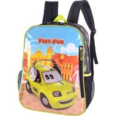 Mochila Escolar Luxcel Fiat Fun IS31031FT