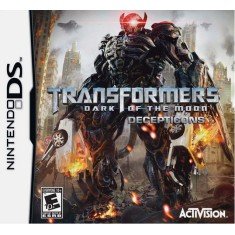 Jogo Transformers Dark Of The Moon Decepticons Activision Nintendo DS