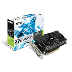 Placa de Video NVIDIA GeForce GTX 750 Ti 2 GB GDDR5 128 Bits MSI N750TI-2GD5 OC