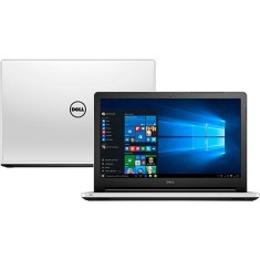 "Notebook Dell Inspiron 5000 Intel Core i3 5005U 5ª Geração 4GB de RAM HD 1 TB 15,6"" Windows 10 I15-5558-BB10"