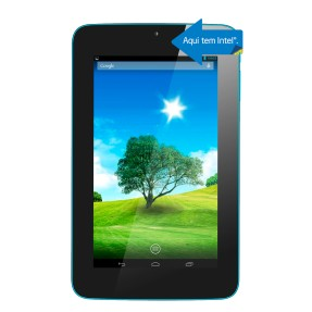 "Tablet DL Eletrônicos 8GB LCD 7"" Android 4.2 (Jelly Bean Plus) X-Pro"
