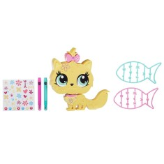 Boneca Littlest Pet Shop Kitty Decore seu Pet Hasbro