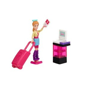 Boneca Vacation Time Summer Mega Bloks
