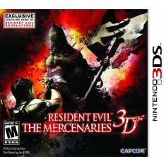 Jogo Resident Evil The Mercenaries 3D Capcom Nintendo 3DS