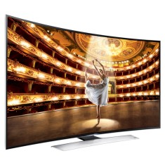 "Smart TV TV LED 3D 78"" Samsung Série 9 4K Netflix UN78HU9000 4 HDMI"