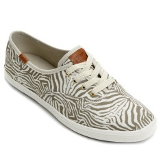 Tênis Keds Feminino Casual Champion Animal Tiger