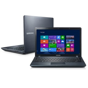 "Notebook Samsung ATIV Book 2 Intel Celeron 847 4GB de RAM HD 500 GB 14"" Windows 8 NP270E4E-KD2"