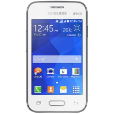 Smartphone Samsung Galaxy Young 2 Duos TV TV Digital 4GB G130BT 3,0 MP 2 Chips Android 4.4 (Kit Kat) Wi-Fi 3G