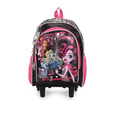 Mochila com Rodinhas Escolar Sestini Monster High 17 Litros Monster High 15Y01 G