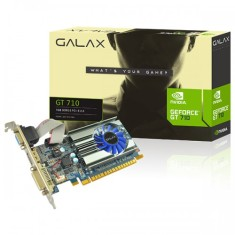 Placa de Video NVIDIA GeForce GT 710 1 GB DDR3 64 Bits Galax 71GGH4HXJ4FN