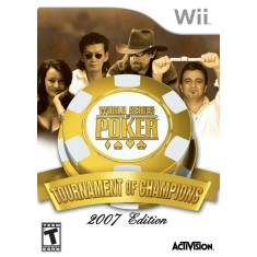 Jogo World Series Poker Tourn Of Champions Wii Activision