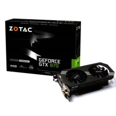 Placa de Video NVIDIA GeForce GTX 970 4 GB GDDR5 256 Bits Zotac ZT-90101-10P