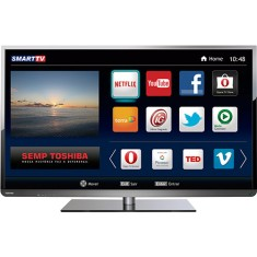 "Smart TV LED 48"" Semp Toshiba Full HD 48L5400 3 HDMI MHL"