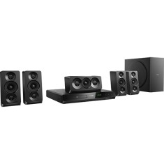 Home Theater Philips com DVD 1.000 W 5.1 Canais Karaokê 1 HDMI HTD5520X/78