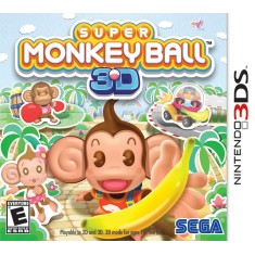 Jogo Super Monkey Ball 3D Sega Nintendo 3DS