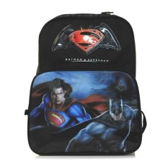 Mochila Escolar Luxcel Batman vs Superman IS31441SB