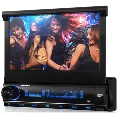 "DVD Player Automotivo Aquarius 7 "" DPA3002 Touchscreen Entrada para camêra de ré"
