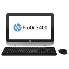 All in One HP Intel Core i3 4160T 3,10 GHz 4 GB HD 500 GB Intel HD Graphics DVD-RW Windows 8 Pro ProOne 400 G1