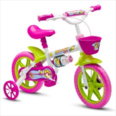 Bicicleta Nathor Aro 12 Freio V-Brake Honey Girl