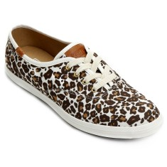Tênis Keds Feminino Casual Champion Animal Leopard
