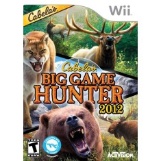 Jogo Cabela's Big Game Hunter 2012 Wii Activision