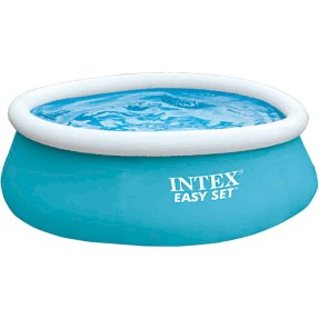 Piscina Inflável 886 l Redonda Intex Easy Set