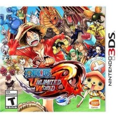 Jogo One Piece Unlimited World Red Bandai Namco Nintendo 3DS