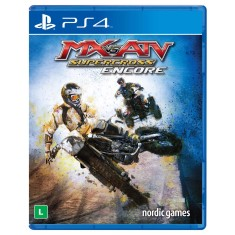 Jogo MX vs. ATV Supercross Encore PS4 Nordic Games