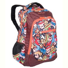 Mochila Escolar Sestini Paul Frank Cartoon 16T05
