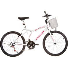 Bicicleta Houston 21 Marchas Aro 26 Freio V-Brake Bristol Peak 2015