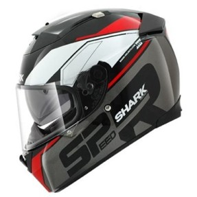 Capacete Shark Speed-R Blank Matt Fechado Viseira Antirrisco