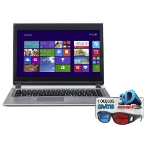 "Notebook Positivo S6040 Intel Core i3 3217U 14"" 2GB HD 320 GB"