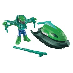 Boneco Imaginext DC Super Friends Crocodilo Ski Pantano - Mattel