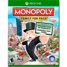Jogo Monopoly Family Fun Pack Xbox One Ubisoft