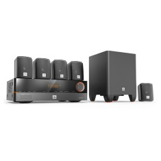 Home Theater JBL 3D 375 W 5.1 Canais 5 HDMI J5100