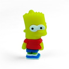 Pen Drive Importado 8 GB USB 2.0 Bart Simpson