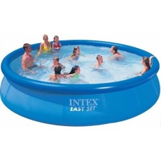 Piscina Inflável 14.141 l Redonda Intex Easy Set Standard