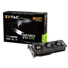 Placa de Video NVIDIA GeForce GTX 970 4 GB GDDR5 256 Bits Zotac ZT-90106-10P