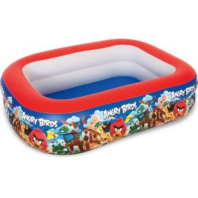 Piscina Inflável 506 l Retangular Bestway Angry Birds Multicores