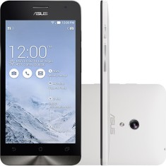 Smartphone Asus ZenFone 5 16GB A501CG 2GB RAM 8,0 MP 2 Chips Android 4.3 (Jelly Bean) 3G Wi-Fi
